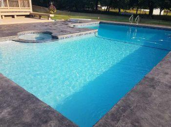 Inground Pool & Spa